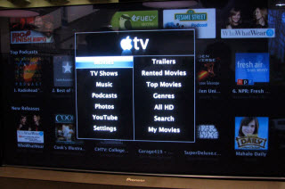 rent iTunes movies with Apple tv