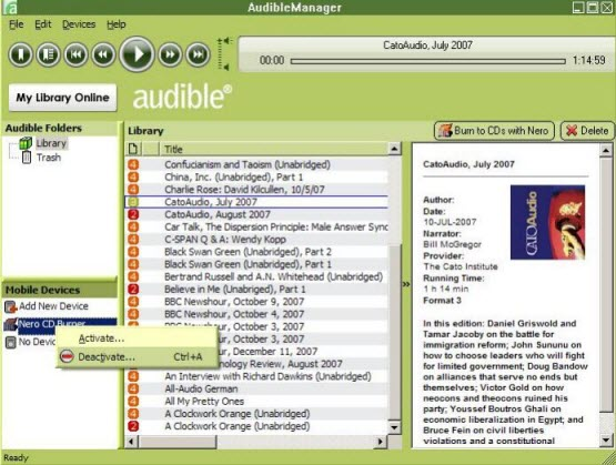 audible manager