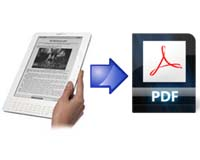 how to convert Kindle AZW eBooks to PDF format