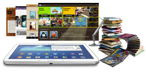 read ebooks with samsung mobile