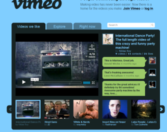 vimeo videos player