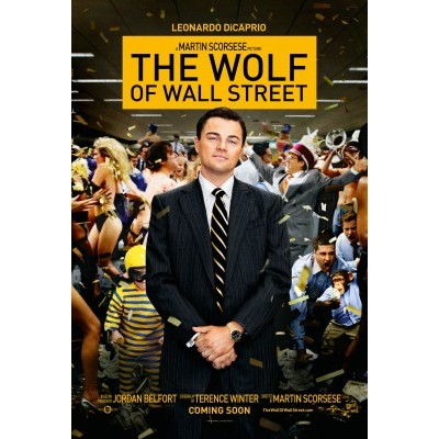 Reviews of The wolf of wall street, the goldfather and The Secret