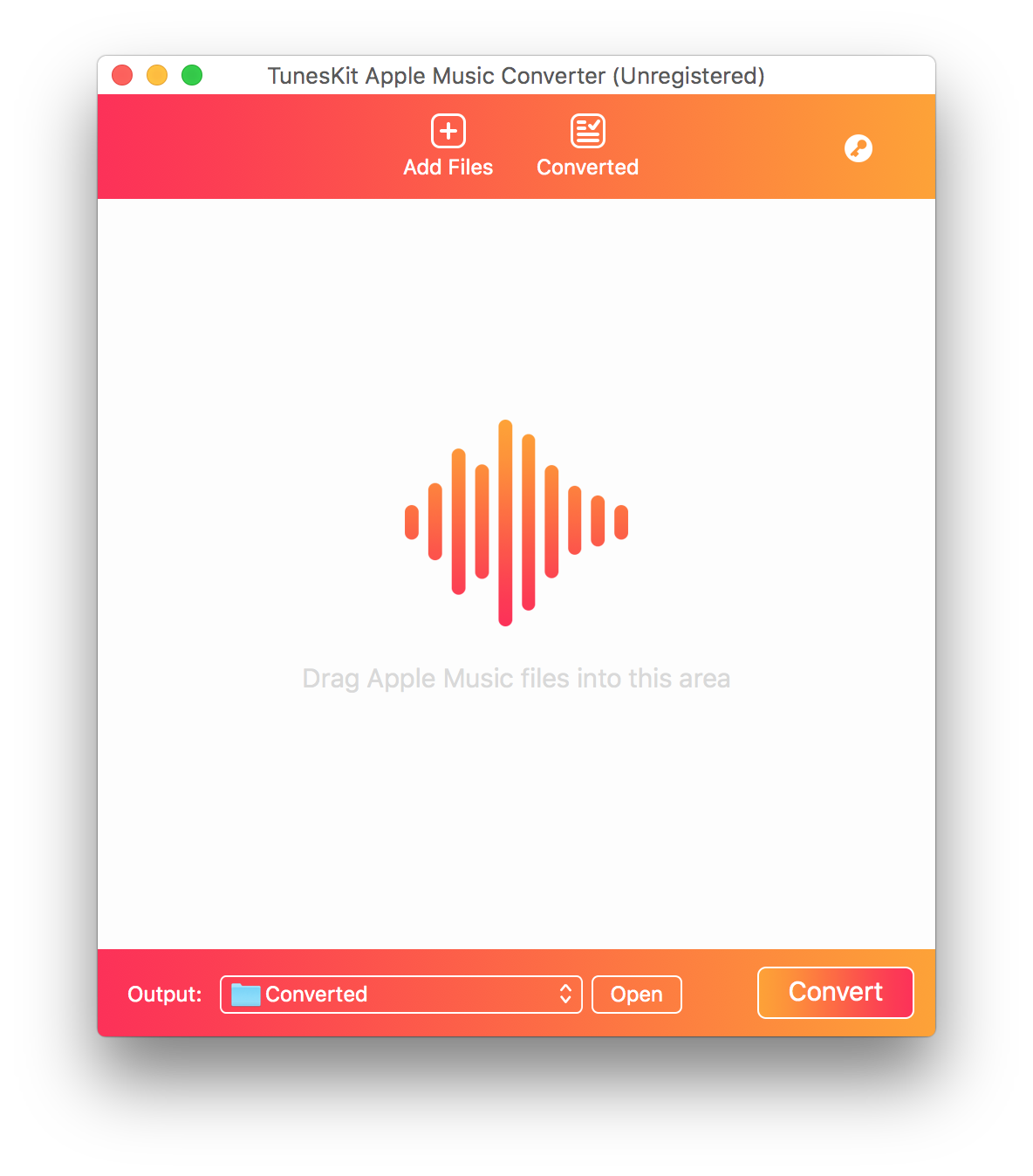 Apple music converter for mac interface