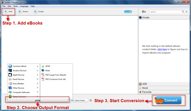 Tutorial of DRM eBook Converter - How to remove DRM from