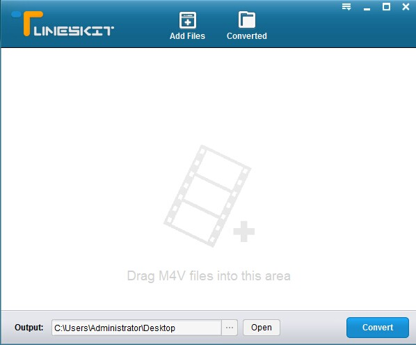 m4v converter for windows interface